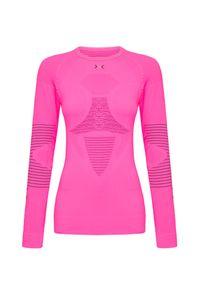 X-Bionic - Koszulka X-BIONIC ENERGIZER 4.0. Kolor: różowy. Długość rękawa: długi rękaw. Długość: długie