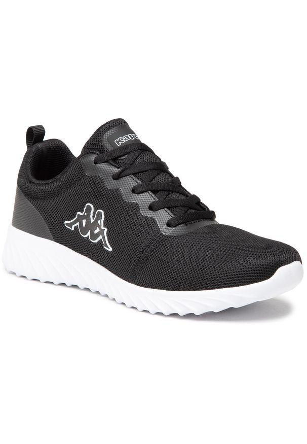 Kappa - Sneakersy KAPPA - Ces Nc 242685NC Black/White 1110. Okazja: na co dzień. Kolor: czarny. Materiał: materiał. Szerokość cholewki: normalna. Sezon: lato. Styl: casual
