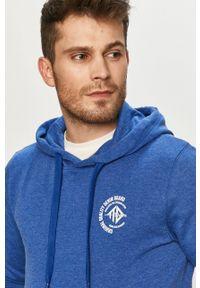 Tom Tailor - Bluza bawełniana. Okazja: na co dzień. Kolor: niebieski. Materiał: bawełna. Styl: casual #4