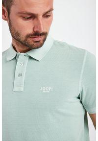 JOOP! Jeans - POLO AMBROSIO JOOP! JEANS. Typ kołnierza: polo. Długość rękawa: krótki rękaw. Długość: krótkie. Wzór: haft