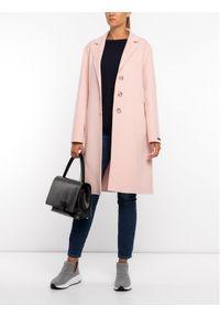 Różowy płaszcz zimowy Sportmax Code