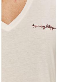 Biała bluzka TOMMY HILFIGER casualowa, na co dzień