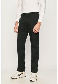 Czarne spodnie Vans