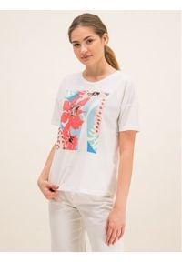 Laurèl T-Shirt 41008 Beżowy Regular Fit. Kolor: beżowy