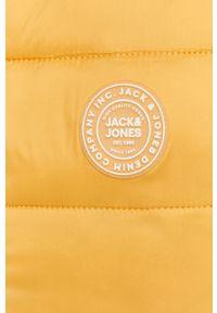 Żółta kamizelka Jack & Jones bez kaptura, casualowa, na co dzień