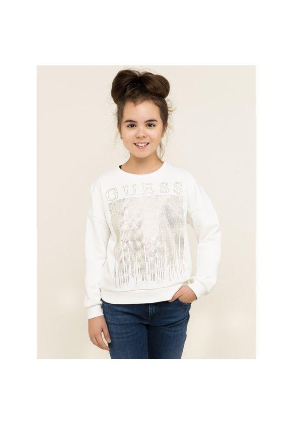 Biała bluza Guess