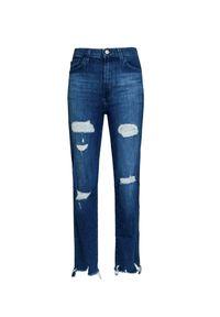 Niebieskie spodnie J BRAND z podwyższonym stanem