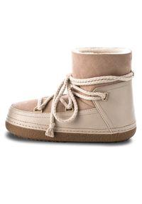 Inuikii Buty Boot Classic 70101-7 Beżowy. Kolor: beżowy