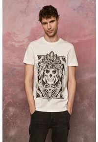 medicine - Medicine - T-shirt by Katarzyna Piątkowska, Tattoo Art. Kolor: biały. Wzór: nadruk