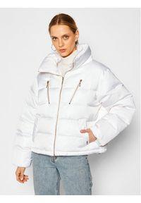 Biała kurtka zimowa Liu Jo Sport sportowa