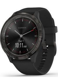 GARMIN - Zegarek sportowy Garmin Vivomove 3 Czarny (010-02239-21). Kolor: czarny. Styl: sportowy
