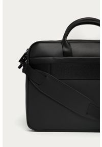 Czarna torba Calvin Klein biznesowa