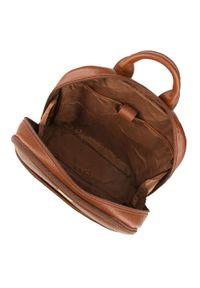 "Wittchen - Męski plecak na laptopa 13"" skórzany. Materiał: skóra. Wzór: paski, aplikacja. Styl: casual #4"