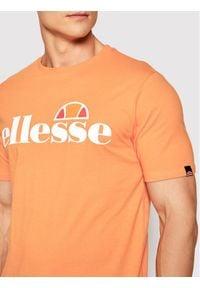 Ellesse T-Shirt Sl Prado SHI07405 Pomarańczowy Regular Fit. Kolor: pomarańczowy