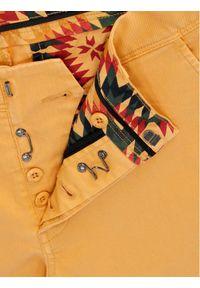 Vistula Spodnie materiałowe Flint XA0613 Żółty Regular Fit. Kolor: żółty. Materiał: materiał #2