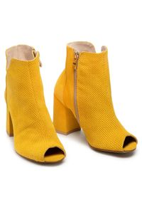 Żółte botki Oleksy