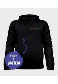 MegaKoszulki - Bluza męska organic z haftem Master Tata. Typ kołnierza: kaptur. Materiał: bawełna. Wzór: haft