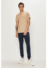 PRODUKT by Jack & Jones - Produkt by Jack & Jones - Spodnie. Okazja: na co dzień. Kolor: niebieski. Materiał: dzianina. Styl: casual
