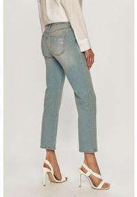 Niebieskie jeansy bootcut Love Moschino