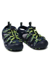 CMP Sandały Sahiph Hiking Sandal 30Q9524 Granatowy. Kolor: niebieski