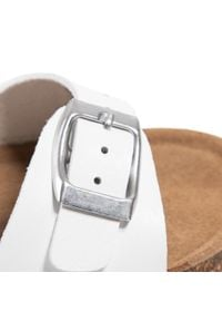 Xti - Sandały XTI - 57612 White. Kolor: biały. Materiał: skóra, skóra ekologiczna. Sezon: lato