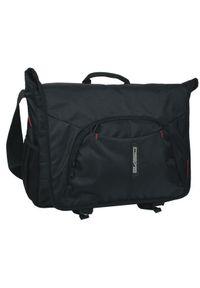 Czarna torba na laptopa Paso