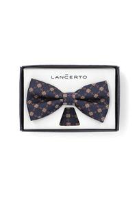 Muszka Lancerto w geometryczne wzory, elegancka