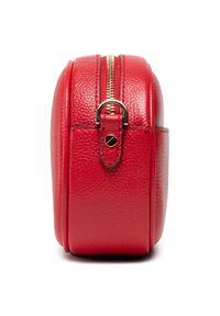 Michael Kors - Torebka MICHAEL MICHAEL KORS - Jet Set Charm 32S1GT9C0L Bright Red. Kolor: czerwony. Wzór: aplikacja. Materiał: skórzane