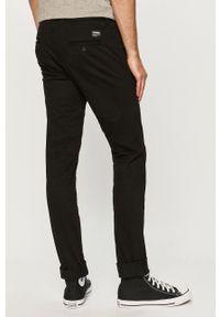 Dr. Denim - Spodnie. Okazja: na co dzień. Kolor: czarny. Materiał: denim. Styl: casual
