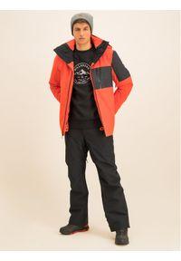 Pomarańczowa kurtka sportowa Quiksilver narciarska