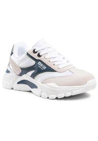 Big-Star - Sneakersy BIG STAR - HH274335 White. Okazja: na co dzień, na spacer. Kolor: biały. Materiał: skóra ekologiczna, materiał. Szerokość cholewki: normalna. Sezon: lato. Styl: casual