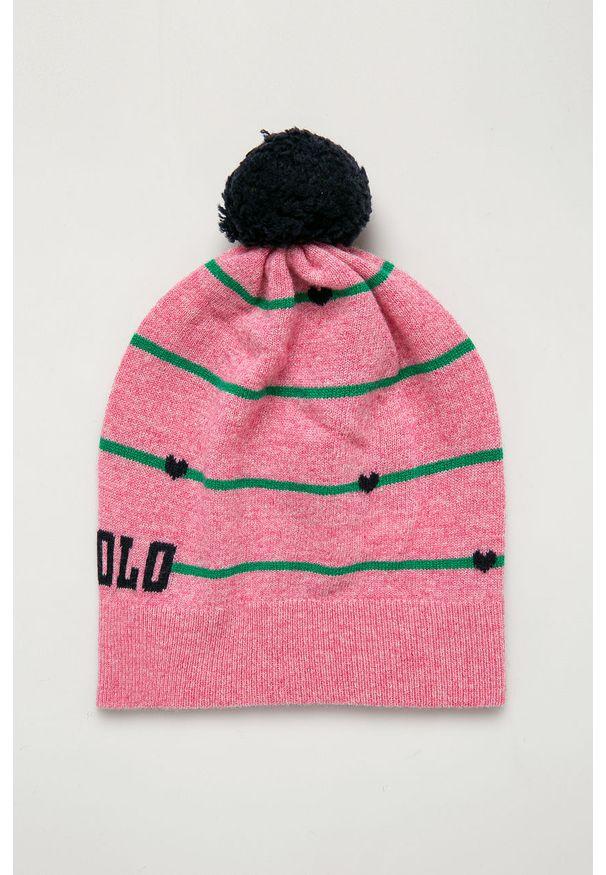 Różowa czapka Polo Ralph Lauren