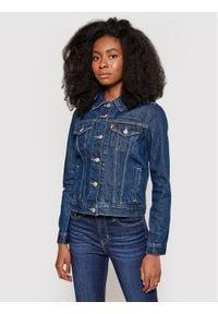 Levi's® Kurtka jeansowa The Original Trucker 29945-0036 Granatowy Regular Fit. Kolor: niebieski. Materiał: jeans