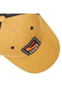Brązowa czapka salomon