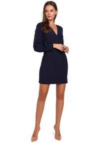 Niebieska sukienka wieczorowa MAKEOVER