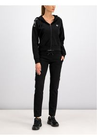 Czarne spodnie dresowe Plein Sport
