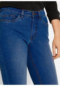 Dżinsy ze stretchem Skinny Fit, bawełna organiczna bonprix niebieski. Kolor: niebieski