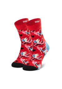 Czerwone skarpetki Happy-Socks