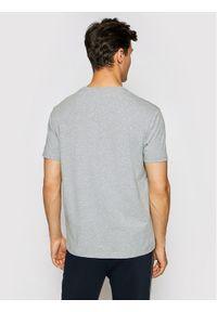 Karl Lagerfeld - KARL LAGERFELD T-Shirt Crewneck 755025 511221 Szary Regular Fit. Typ kołnierza: dekolt w karo. Kolor: szary