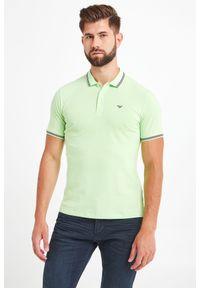 Koszulka polo Emporio Armani sportowa, polo, w kolorowe wzory