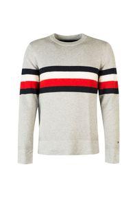 Sweter TOMMY HILFIGER na co dzień, z aplikacjami, casualowy