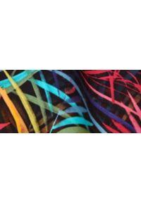 DRYWASH - Spódnica maxi w kolorowe wzory. Okazja: na co dzień. Materiał: materiał. Długość: długie. Wzór: kolorowy. Sezon: lato. Styl: wakacyjny, casual #5