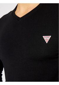 Czarna koszulka z długim rękawem Guess