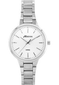 Srebrny zegarek Albatross