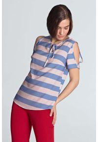Fioletowa bluzka Nife