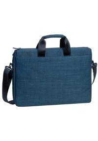 Niebieska torba na laptopa RIVACASE casualowa