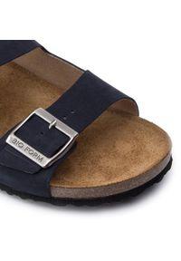 Niebieskie sandały Nik klasyczne, na lato #6