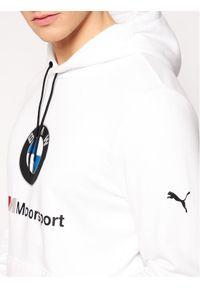 Puma Bluza BMW Motorsport Logo 599533 Biały Regular Fit. Kolor: biały