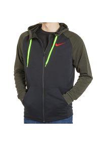 Nike - NIKE DRY FLEECE HOODIE > 860465-014. Materiał: poliester, materiał. Wzór: aplikacja. Styl: sportowy, klasyczny