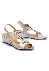 Szare sandały Gamis Collection